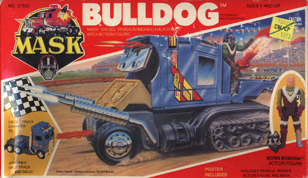 Kenner MASK BULLDOG BOX