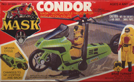 Kenner MASK CONDOR BOX FRONT