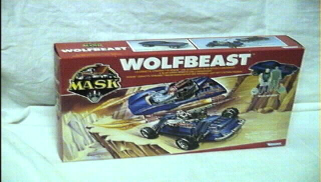 Kenner MASK WOLFBEAST BOX FRONT