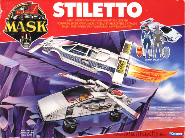 Kenner MASK STILETTO BOX FRONT