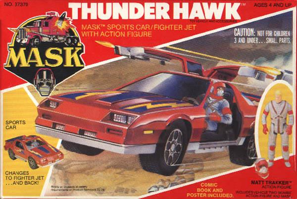 M.A.S.K. Thunderhawk Box Front