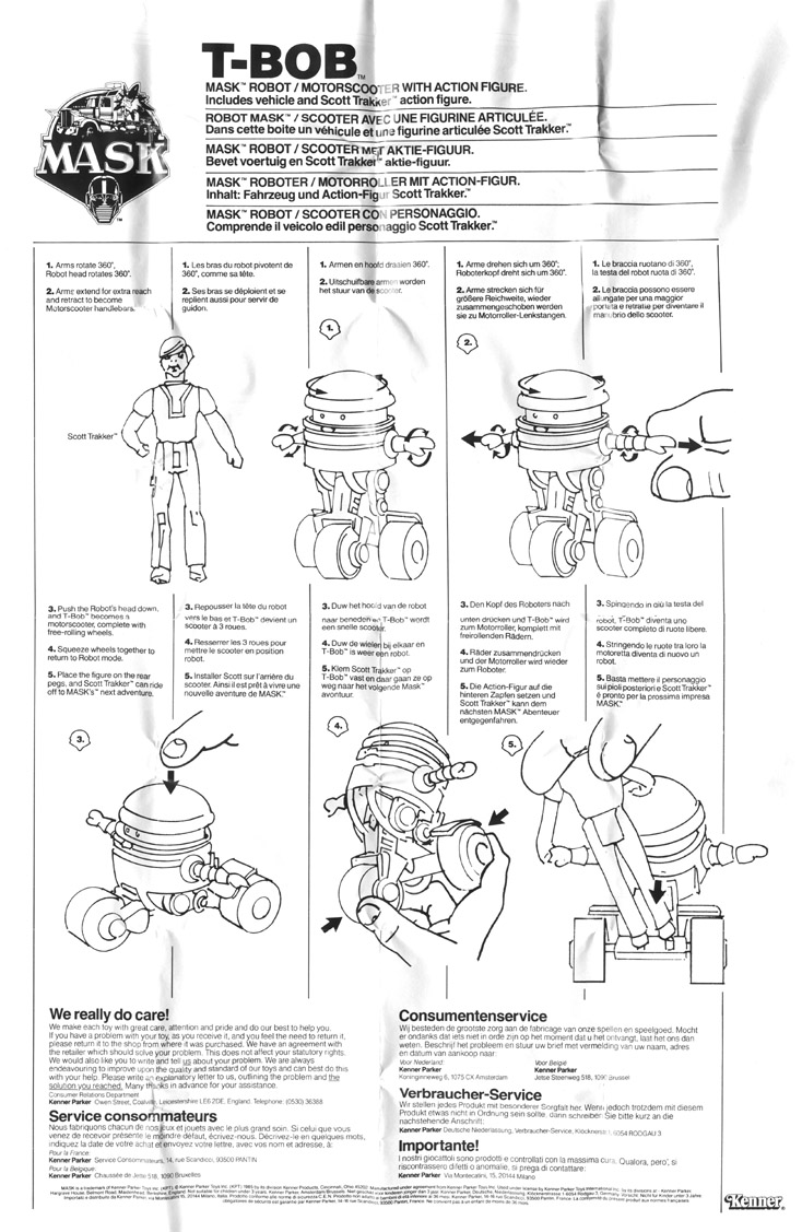 M.A.S.K. (Kenner/PlayFul) 1985-1988 - Page 6 Tbobins